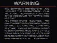 SVS Warning
