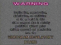 Viva Video Warning Screen 2a