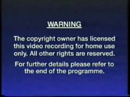 CIC Video Warning (1992) (Variant)