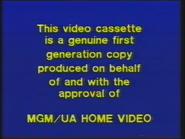 MGM Home Entertainment UK Warning 4a