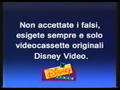 Walt Disney Home Video Italian Piracy Warning (1995) (S6)