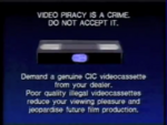 Walt Disney Home Video Piracy Warning (1994) Hologram