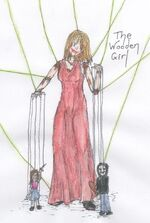 The Wooden Girl Coloured