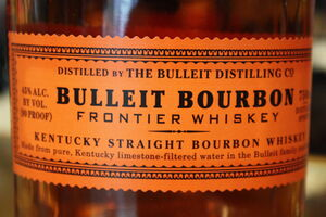 Bulleit label