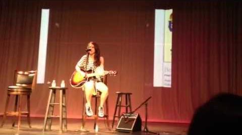 Kristin Rose Singing An Orginal Song