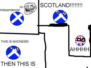 NOBODY MESSES WITH SCOTLAND