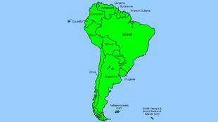 South american by Finn Mapper
