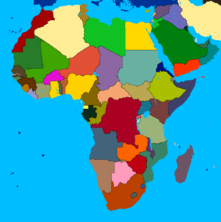 Africa (without names)