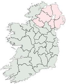 Ireland counties
