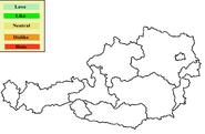 Austria Opinion Map