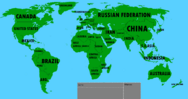 Simplified World With Names