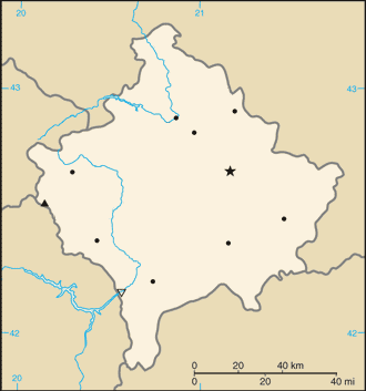 000 Kosova harta