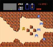 Zelda NES gameplay 3