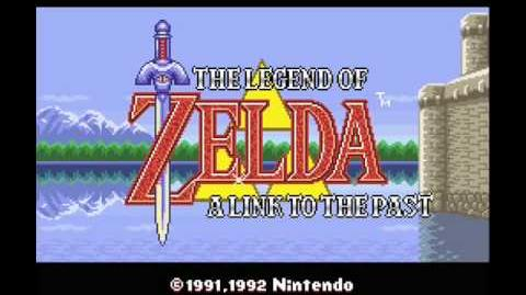 Zelda - A Link To The Past Music - Title Screen