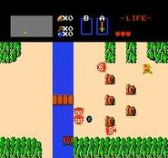 Zelda NES gameplay 2