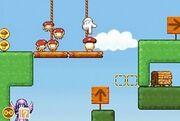 Boing! Docomodake DS gameplay