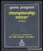 Championship Soccer Game Cart