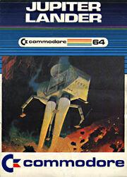 Jupiter Lander C64 Box Art