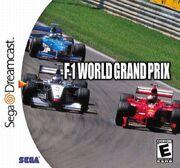 F1 World Grand Prix Dreamcast Box Art