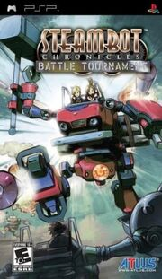 Steambot Chronicles Battle Tournament Box Art