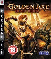 Golden Axe Beast Rider Box Art