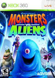Monsters Vs. Aliens Box Art