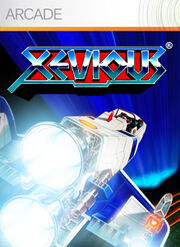 Xevious Xbox 360 Box Art