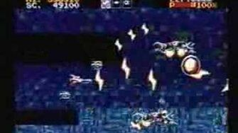 Classic Game Room - LIGHTENING FORCE review for Sega Genesis
