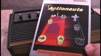 Classic Game Room - ACTIONAUTS review for Atari 2600