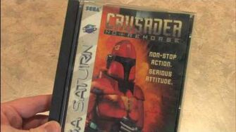 CGR Packaging Review CRUSADER NO REMORSE artwork and packaging