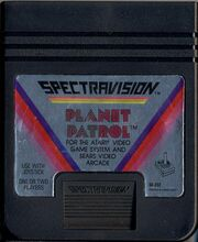 Planet Patrol 2600 Cartridge