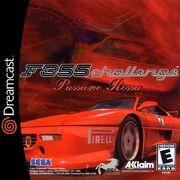 Ferrari F355 Challenge Dreamcast Box Art
