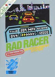 Rad Racer Box Art