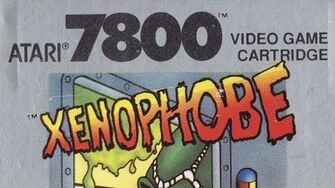 Classic Game Room HD - XENOPHOBE for Atari 7800 review