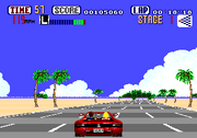 Outrun Genesis Gameplay