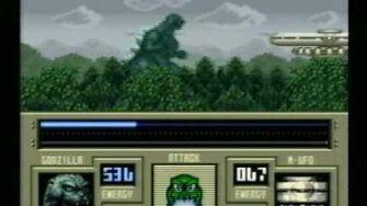 Classic Game Room HD - SUPER GODZILLA for Super Nintendo
