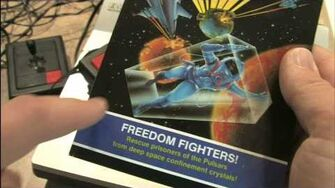 Classic Game Room HD - FREEDOM FIGHTERS! Magnavox Odyssey 2
