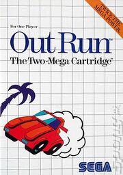 Outrun Box Art