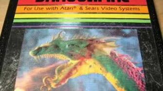Classic Game Room - DRAGONFIRE review for Atari 2600