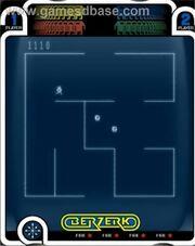 Berzerk Vectrex Gameplay