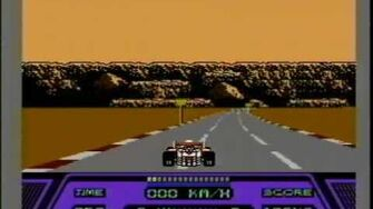 Classic Game Room HD - RAD RACER for Nintendo NES review