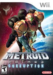 Metroid Prime 3 Corruption Box Art