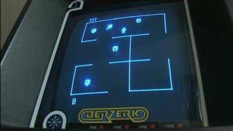 Classic Game Room HD - BERZERK for Vectrex review