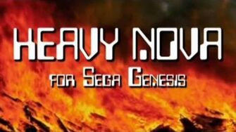 Classic Game Room - HEAVY NOVA review for Sega Genesis