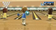 Wii Sports Bowling Gameplay