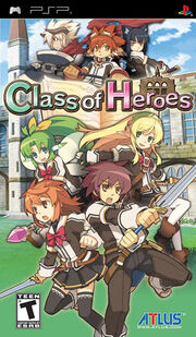Class Of Heroes Box Art