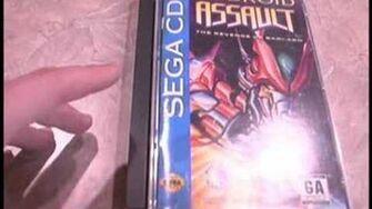 CGRHD reviews SEGA CD CASE and MEGA FOAM INSERT