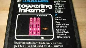Classic Game Room - TOWERING INFERNO review for Atari 2600