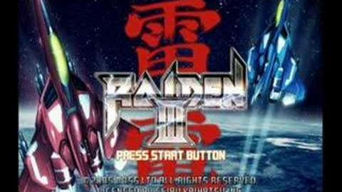 Classic Game Room - RAIDEN 3 for Playstation 2