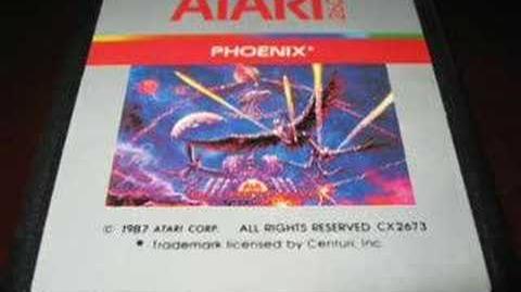 Classic Game Room - PHOENIX for Atari 2600 review